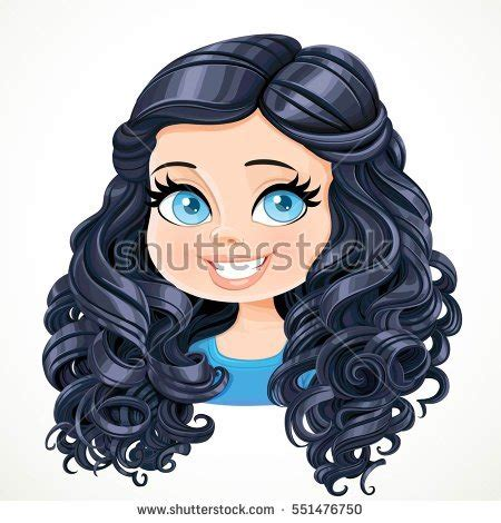 curly hair vector tutorial cartoon black girl with curly hair adultcartoon co