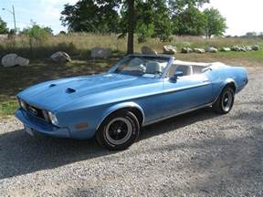 1973 Ford Mustang Convertible 1973 Ford Mustang Pictures Cargurus