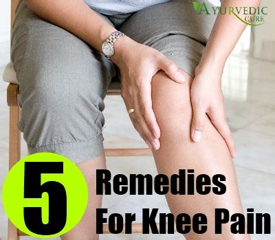 home remedy for in back of knee