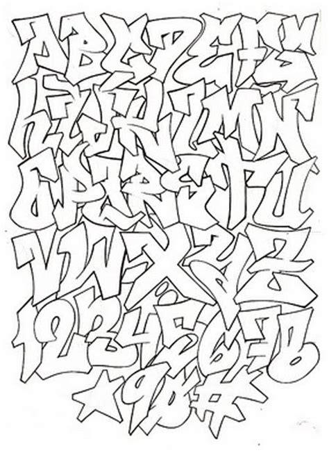 graffiti alphabet fonts     draw pinterest