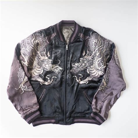 dragon tattoo jacket japanese wagara hanatabi gakudan yakuza yanki ryuoh dragon
