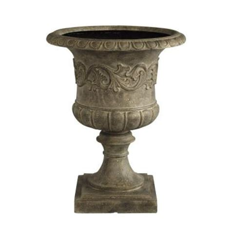 Urn Planters Home Depot by Home Decorators Collection 23 5 In H Grecian