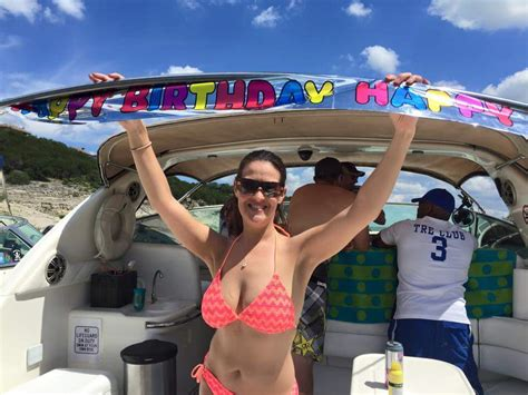 birthday boat rentals birthday party on our party boat rental lake travis