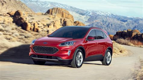 2020 Ford Crossover by 2020 Ford Escape Crossover Gets Redesign And Tech