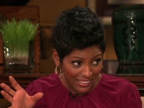 tamron hall haircut tamron hall sister