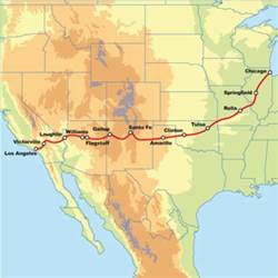 route 66 motorcycle road trip – los angeles to chicago