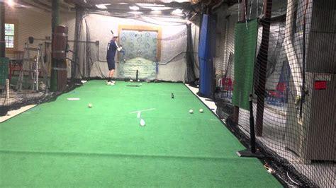 basement batting cage o brien 2012 hitting