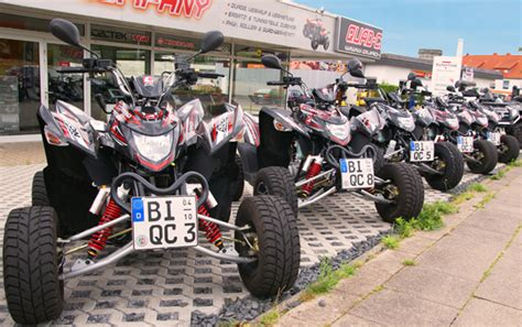 Quart Motorrad F Hrerschein by Vermietung Bielefeld Company