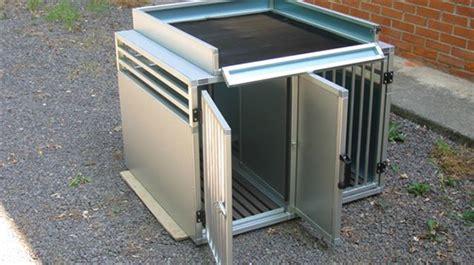 gabbie cani alluminio esempi di gabbie per cani realizzate su misura