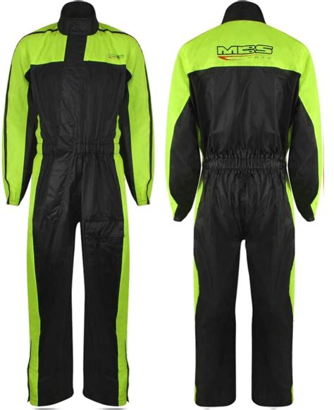 motorcycle rain suit rain suit hi viz 1 piece motorcycle motorbike scooter wind