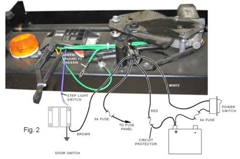 kwikee electric step wiring diagram wiring diagram