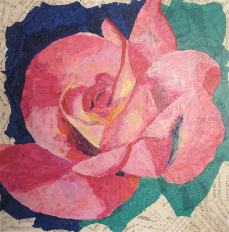Tissue Paper Decoupage Ideas - 211 best d i y canvas images on canvas ideas