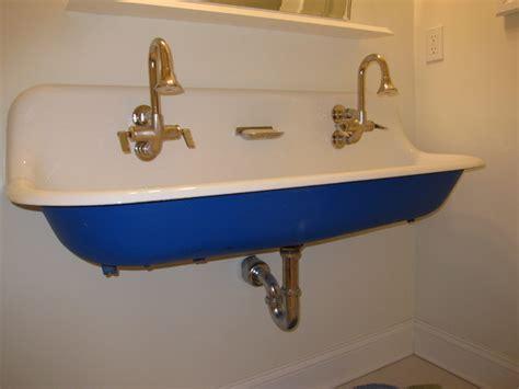 Kohler White Kitchen Faucet by Brockway Sink
