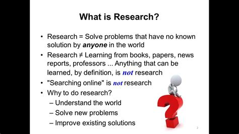 what is the research what is research
