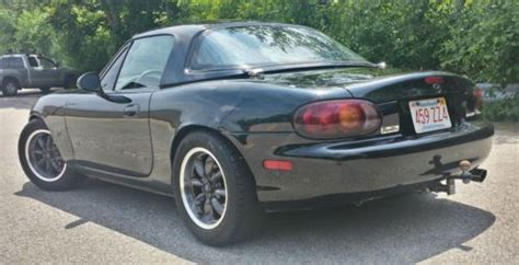 sell used 1999 supercharged miata hard top convertible 2