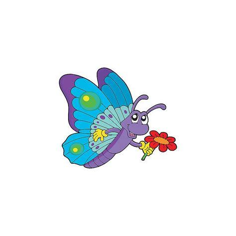 stickers muraux enfant 3648 stickers enfant papillon fleur r 233 f 3648 dimensions de