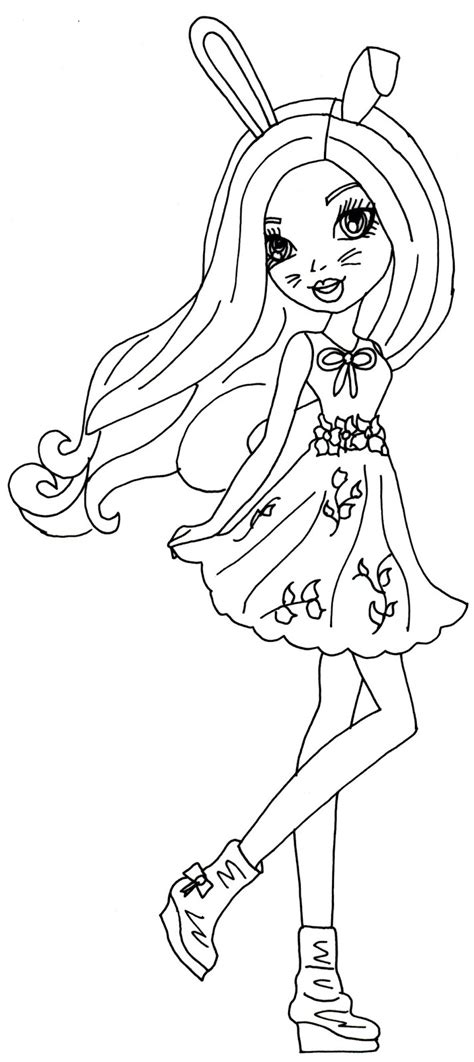 ever after high coloring pages darling charming free printable ever after high coloring pages harelow