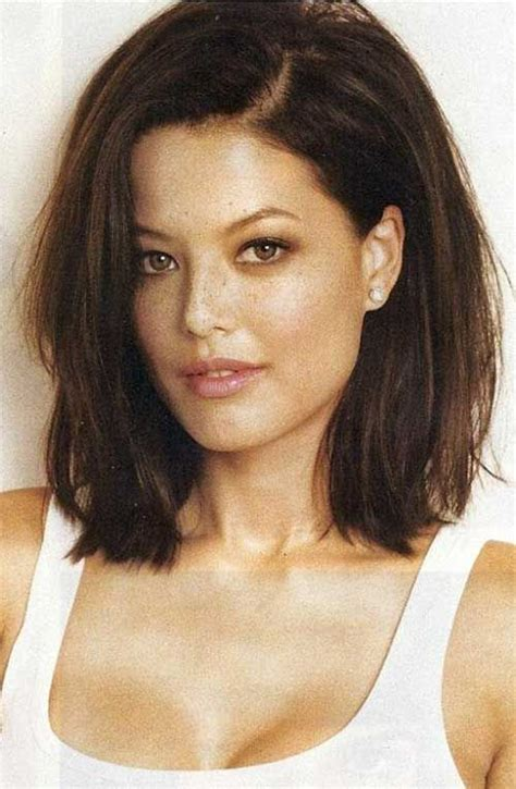 long bob thin hair heavy woman 20 long bob dark hair bob hairstyles 2015 short