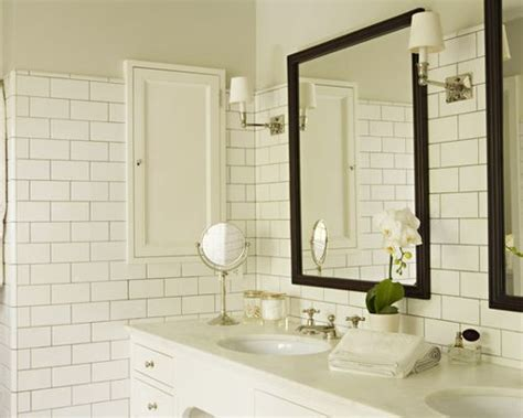 bathroom subway tile ideas bathroom white subway tile design ideas remodel pictures houzz