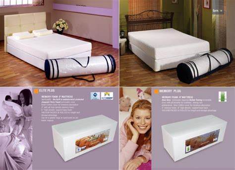 Bed In A Box Memory Foam Mattress by Memory Foam Mattress Roll Pack In A Box View Vacuum