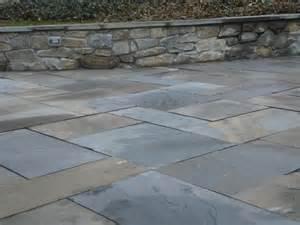 Wall and full color flagstone stone patio ideas flagstone patio