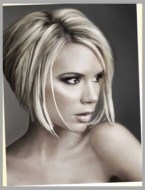the swing short hairstyle short n the back and long in te frlnt at a angle 15 bob stacked haircuts bob hairstyles 2015 short