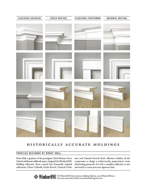 interior trim styles four historically accurate molding styles compared side