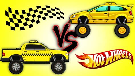 monster trucks tv show taxi monster trucks challenge taxi truck vs taxi monster