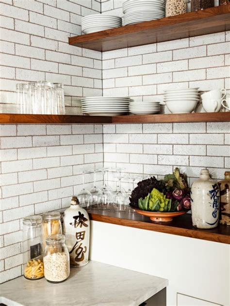 kitchen corner shelves ideas industrial kitchen corner shelf decoist