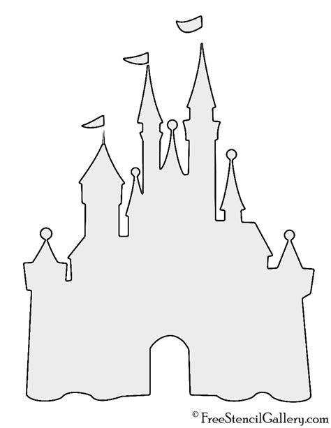 castle cut out template princess castle template printable pictures to pin on