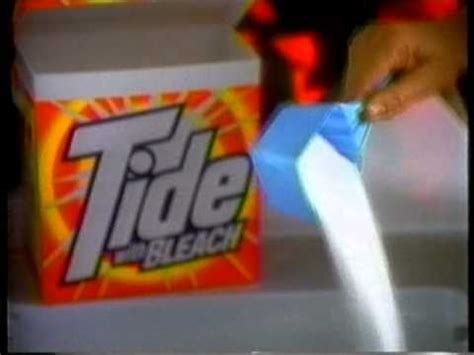my tide detergent tv commercial youtube tide with bleach lucky shirt commercial 1992 youtube