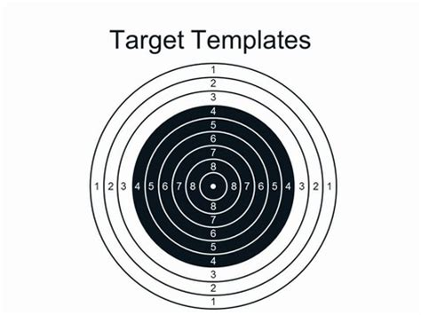 bullseye template printable template of a target search results calendar 2015