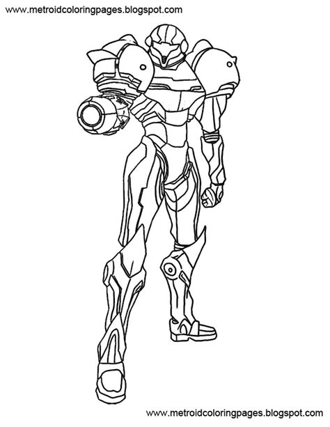 Samus Coloring Pages samus coloring pages az coloring pages