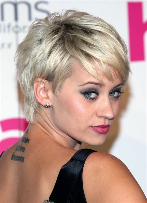 platninum hair cuts short chic silver gold platinum blonde pixie kimberly