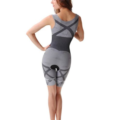 Bamboo Slimming Bodysuit 2019 bamboo charcoal slimming suit bodysuits