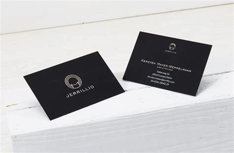 Visitenkarten Schwarz by Edel Und Elegant Durchgef 228 Rbt Schwarze Visitenkarten Mit