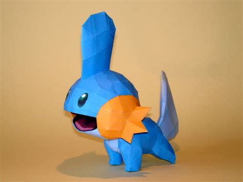 Mudkip Papercraft - mudkips papercraft by skele on deviantart