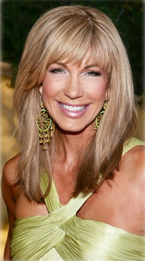 hairstyles for the 50 with fringe long hairstyles for women over 50 fave hairstyles