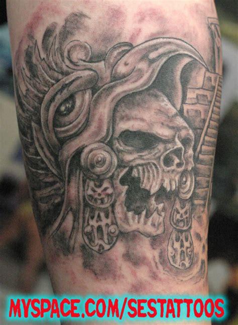 Ses Aztec Skull Tattoo Tattoo Picture At Checkoutmyink Com Aztec Skull Tattoos Designs