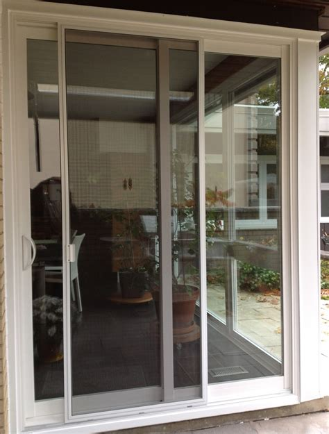 Re Screen Patio Door Beautiful And Attractive Sliding Patio Doors With Screens Mybktouch