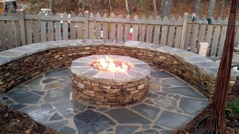 furniture romantic natural gas fire pit table bring warm