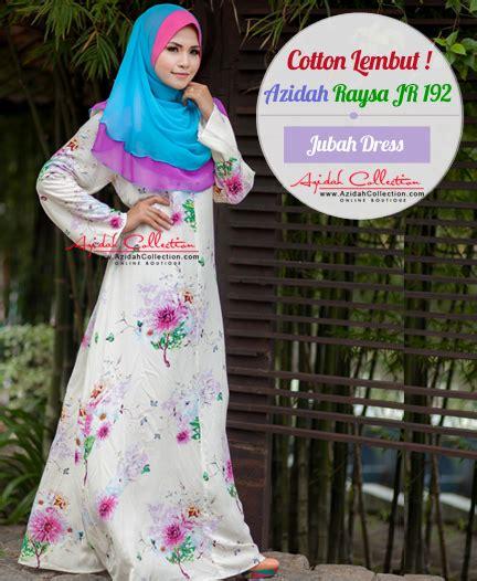 Jubah Muslimah Size Besar jubah besar azidah collection koleksi jubah besar kain cotton azidah