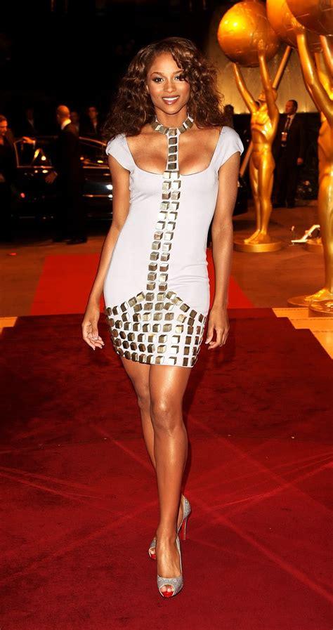 ciara hot cleavage sexy hq   world  awards