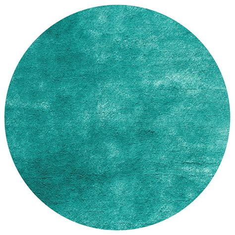 Overstock Teal Rug by Tufted Posh Teal Shag Rug 4