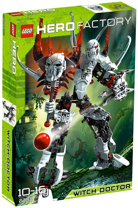 lego hero factory  pas cher witch doctor