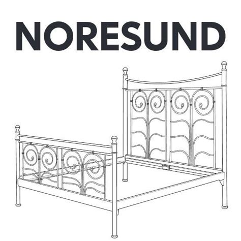 ikea bed parts ikea noresund bed frame replacement parts furnitureparts com