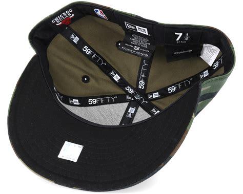 new era bulls chicago bulls nba camo 59fifty fitted new era caps