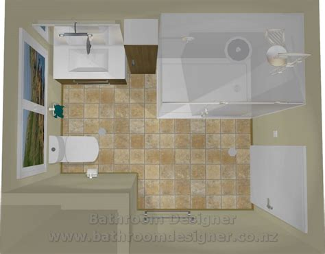 layout view small bathroom layout