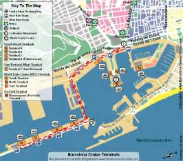 Barcelona Airport Car Rental Map Getting From Barcelona Airport To The Cruise Port