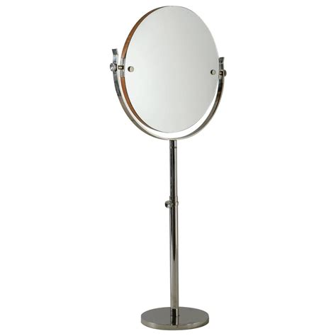 adjustable height vanity large height adjustable nickel vanity or mirror